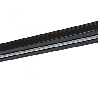 Czarna szyna 1-fazowa Italux 1-circuit track 1 m black