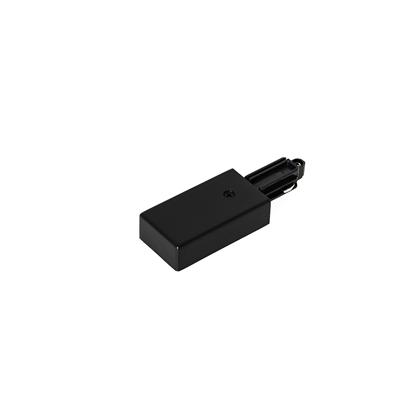 Czarna zaślepka zasilająca Italux 1-circuit power connector right black