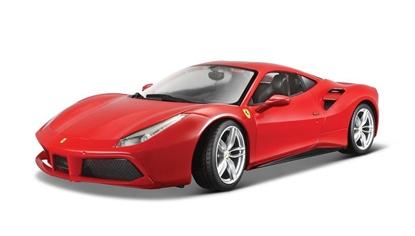 Ferrari 488 GTB Czerwony 1:24 BBURAGO