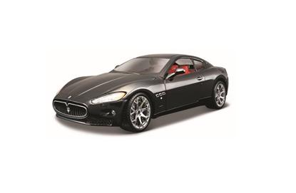 Maserati Granturismo 1:24 czarny BBURAGO (18-22107)