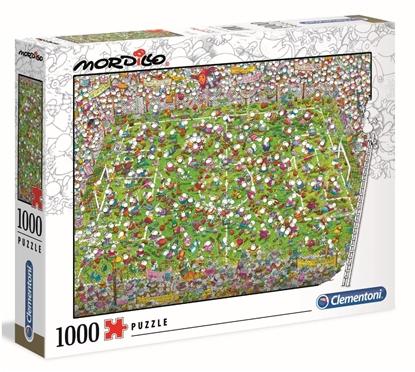 Clementoni Puzzle 1000el Mordillo The Match 39537 (39537 CLEMENTONI)