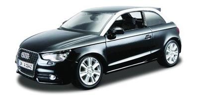 Audi A1 1:24 czarny BBURAGO (GXP-567807)