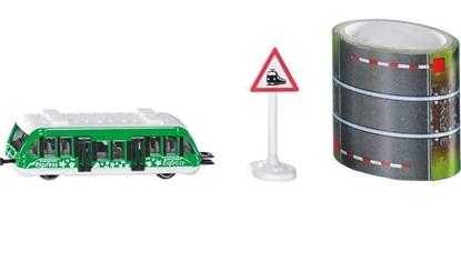 SIKU 1603 Pociąg lokalny + taśma z torami (S1603)