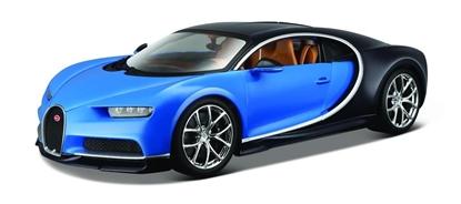 Bugatti Chiron 1:18 niebieski BBURAGO