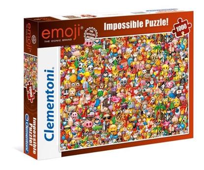 Clementoni Puzzle 1000el Emoji 39388 p6, cena za 1szt. (39388 CLEMENTONI)