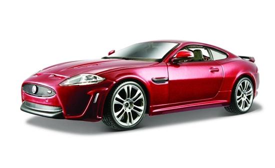 Jaguar XKR-S czerwony 1:24 BBURAGO (18-21063)