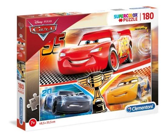 Clementoni Puzzle 180el SUPER KOLOR Auta 3 29291 p6 (29291 CLEMENTONI)