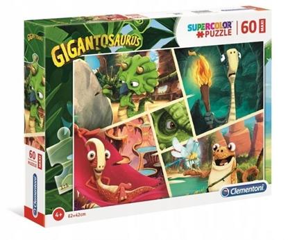 Puzzle 60 elementów Maxi Gigantosaurus (GXP-743089)