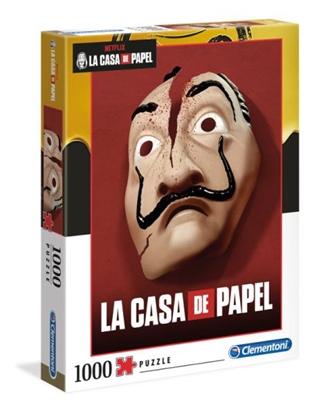 Clementoni Puzzle 1000el La casa de papel - Dom z papieru 39533 (39533 CLEMENTONI)