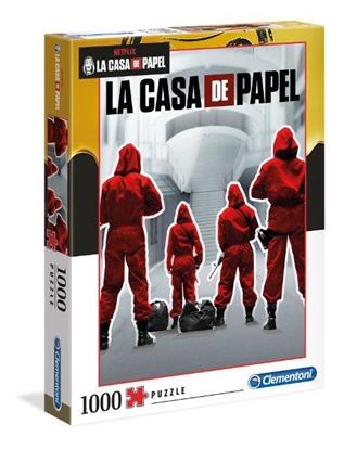 Clementoni Puzzle 1000el Dom z papieru. La casa de papel 2020 39532 (39532 CLEMENTONI)