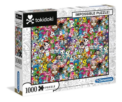 Clementoni Puzzle 1000el Impossible Tokidoki 39555 (39555 CLEMENTONI)