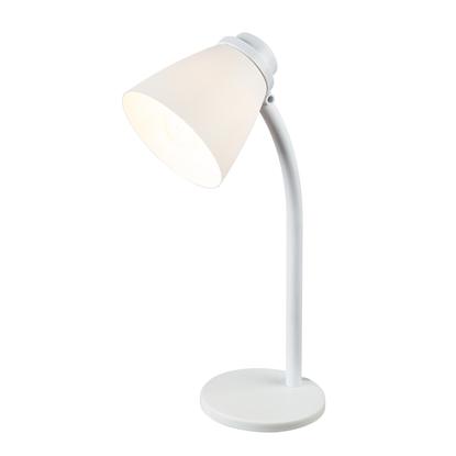 Biała lampa biurkowa biurowa Globo JULIUS