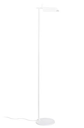 Aluminiowa lampa podłogowa biała ledowa King Home PEAK