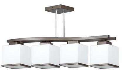 Biała lampa podsufitowa nad stół Emibig NARTA 249/4