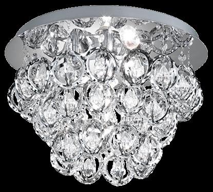 Akrylowa lampa sufitowa do salonu Trio VICTORIA
