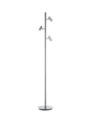 Akrylowa lampa stojąca satyna ledowa Trio ZIDANE