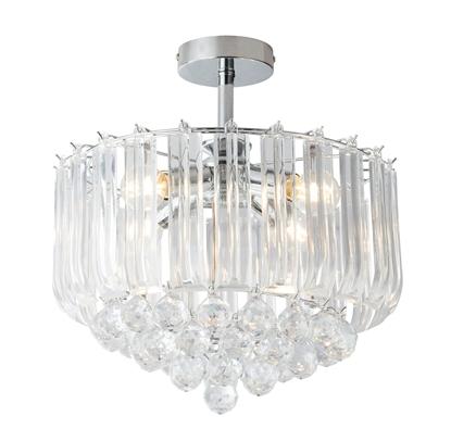 Glamour lampa sufitowa do salonu Globo MINNESOTA 15303D