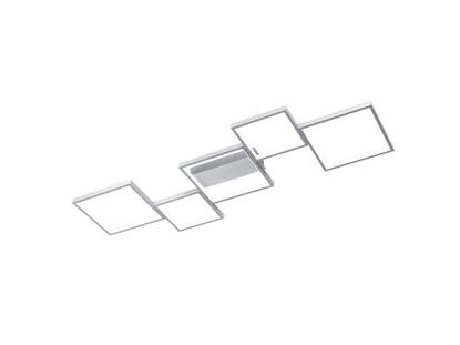 Aluminium lampa podsufitowa LED do salonu Trio SORRENTO 627710505