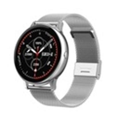 SD25/2-DT88 PROMIS, Smartwatch damski,srebrna koperta,srebrna metalowa bransoleta