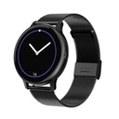 SD25/3-DT88 PROMIS, Smartwatch damski,czarna koperta,czarna bransoleta metalowa