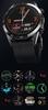 SM40/1-L13 PROMIS, Smartwatch męski,czarna koperta,czarny pasek skórzany