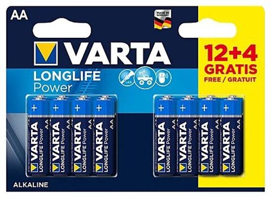 16 x Varta Longlife Power LR6/AA 4906 (High Energy)