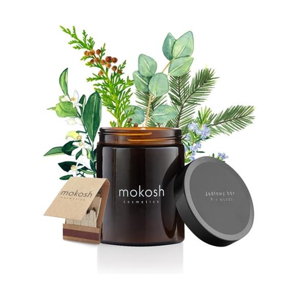 Mokosh - Świeca sojowa Jodłowy bór