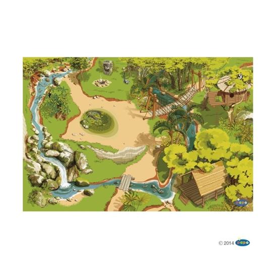 Papo 60503 plansza dżungla  133x95x0,02cm
