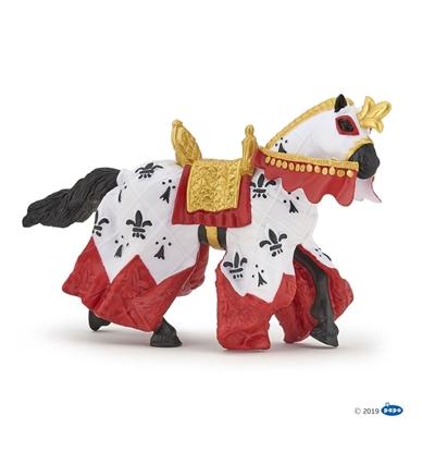 Papo 39951 Koń króla Artura czerwony  15x6x9cm