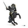 Papo 39276 Koń w czarnej zbroi  14x10x4,5cm