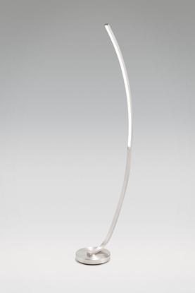 Akrylowa lampa stojąca satynowa LED Auhilon LONDON