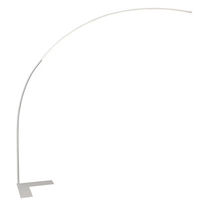 Akrylowa lampa stojąca biała LED Maxlight ARC