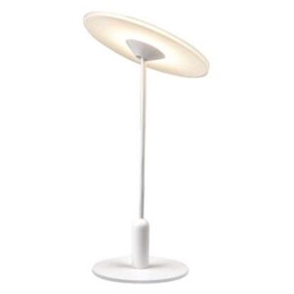 Aluminiowa lampa podłogowa biała LED Altavola VINYL