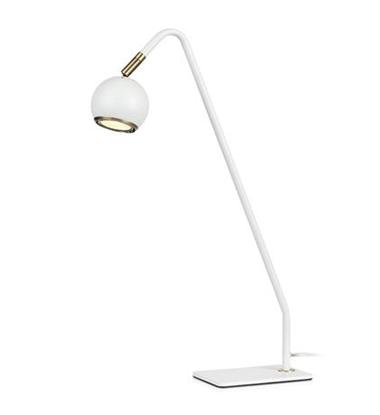 Biała lampa biurkowa biurowa Markslojd COCO