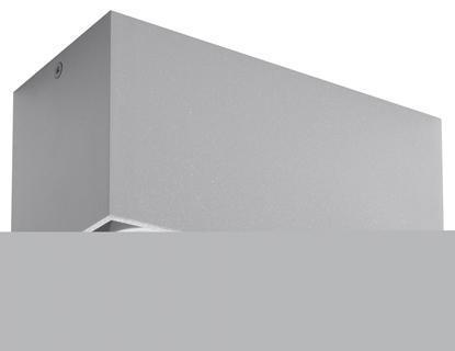 Aluminiowy plafon do przedpokoju Sollux QUAD MAXI
