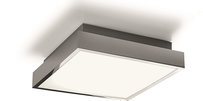 Akrylowa lampa przysufitowa LED do łazienki Nowodvorski BASSA