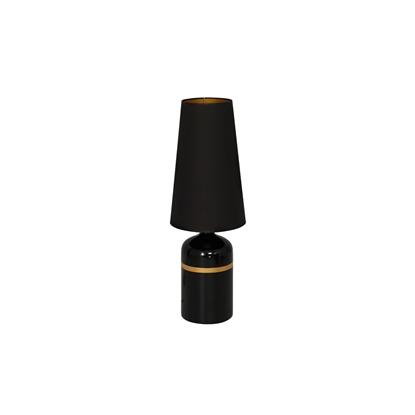 Ceramika lampa stojąca czarna Milagro VIRGO