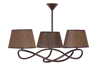Metal lampa sufitowa do salonu Sigma Senso