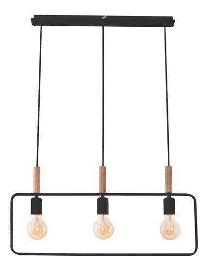 LAMPA SUFITOWA WISZĄCA CANDELLUX FRAME 33-73525 CZARNY