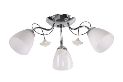 Ariam Lampa Sufitowa 3X40W E27 Biały