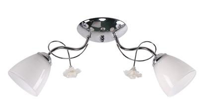 Ariam Lampa Sufitowa 2X40W E27 Biały