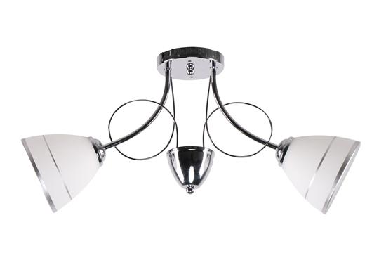 Elotte Lampa Sufitowa 2X40W E27 Biały