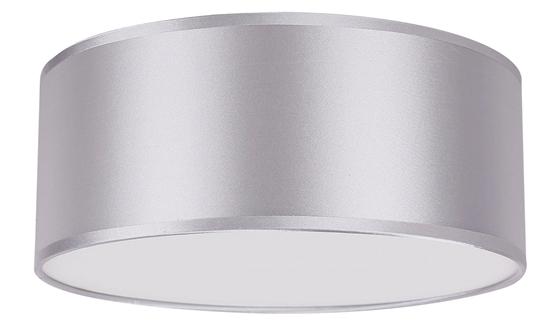 Lampa sufitowa okrągła jasno szara 2x40W E27 30cm Kioto Candellux 31-64660