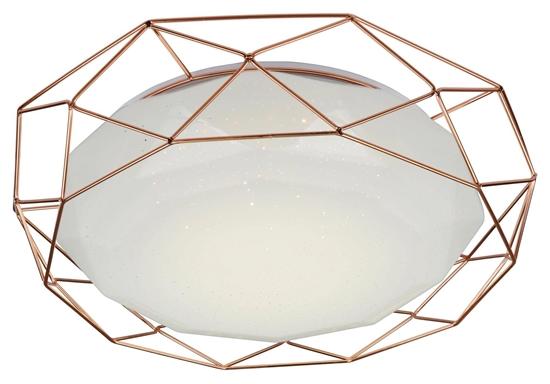 Plafon złoty 43 lampa LED 4000K Sven Candellux 98-73174