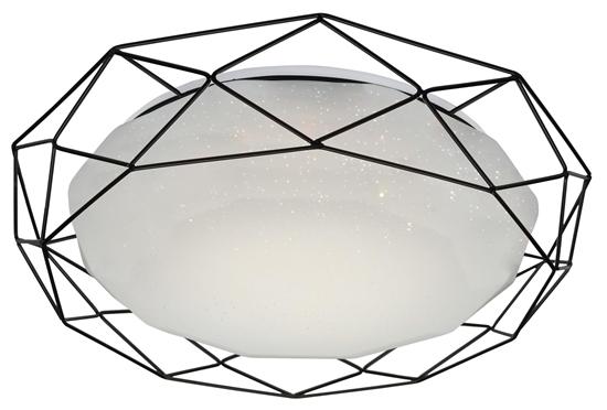 Plafon czarny 43 lampa LED 4000K Sven Candellux 98-73167