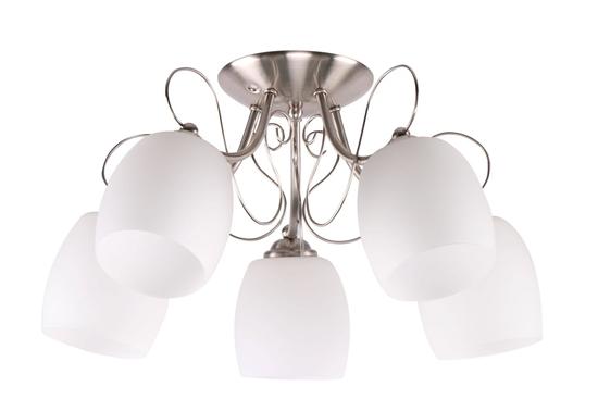 Lampa sufitowa chromowa 5x40W Amba Candellux 35-79251