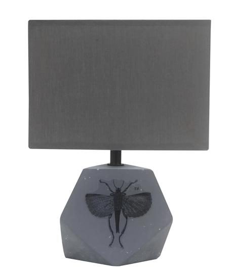 Lampa biurkowa gabinetowa ciemno szara Animi Candellux 41-79923