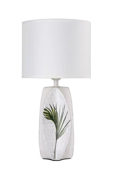 Lampa gabinetowa biurkowa biała Palma 1 Candellux 41-79961