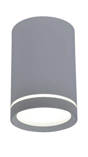 Lampa sufitowa szara 6,8x10cm Tuba Candellux 2276007