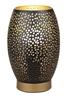 Lampa nocna stołowa ażurowa czarno-złota Venus Candellux 41-78315